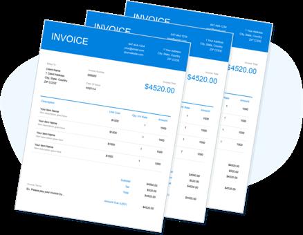 Free Fillable Invoice Template Pdf Free Invoice Creator