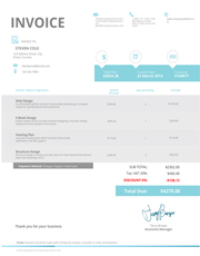Free Catering Invoice Template Try Free Invoice Creator
