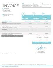 Free Interior Design Invoice Template Free Invoice Creator